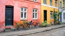 Colorful Street, Doors, Window...