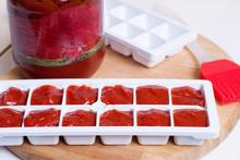 Frozen Tomato Juice Cubes