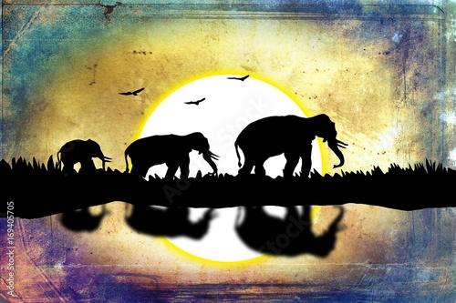 retro-slonie-na-pustyni