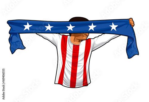 USA Fan Poster