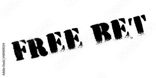 Valokuva Free Bet rubber stamp