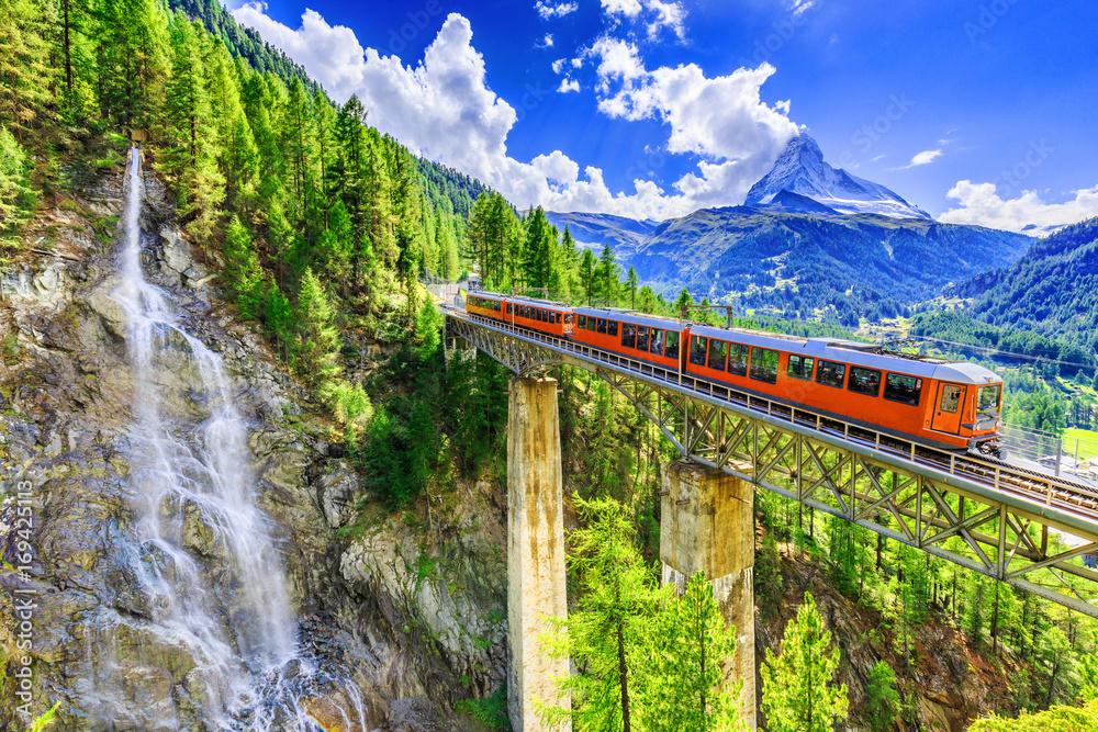 Fototapeta Zermatt, Switzerland. - obraz na płótnie