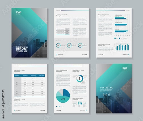 Cuadros en Lienzo template design for company profile ,annual report , brochure , flyer  ,and page