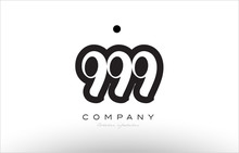 999 Number Logo Icon Template ...