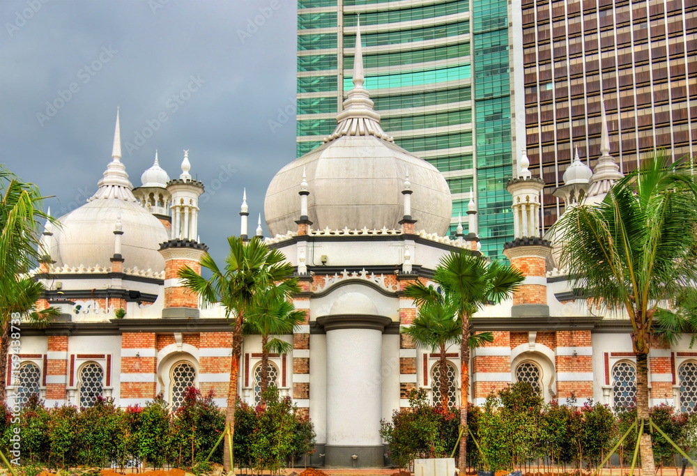 Fotografia, Obraz  Masjid Jamek, one of the oldest mosques in Kuala Lumpur, Malaysia