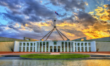 Parliament House In Canberra, ...