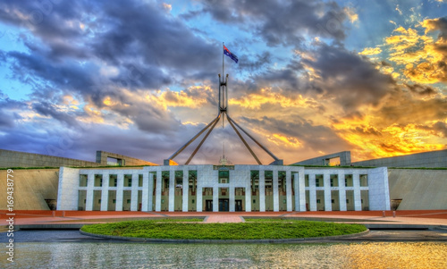 Cadres-photo bureau Océanie Parliament House in Canberra, Australia