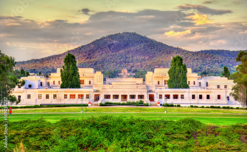 Foto op Canvas Australië Old Parliament House, served from 1927 to 1988. Canberra, Australia