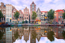 Amsterdam Canal Herengracht Wi...
