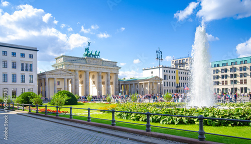 Printed kitchen splashbacks Historical buildings Berlin, Brandenburg Gate