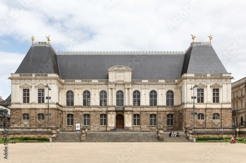 Facade of the palace of Parliament of Brittany in France #169468178