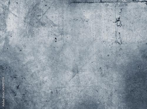 Fototapeta Blue concrete wall obraz na płótnie