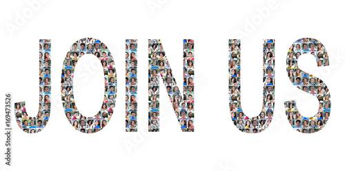 Fotografía  Join Us People Collage Standard