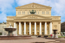Bolshoi Theatre Of Moscow, Russia