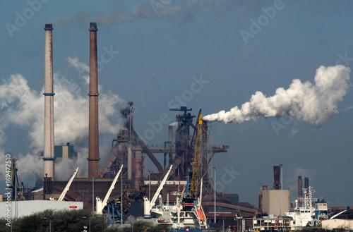 Fotografie, Obraz  Tata Steel, Corus en Blast furnaces