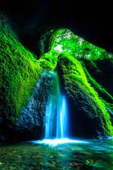 Obraz na Szkle Wodospad シワガラの滝
