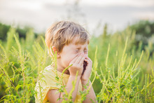 Boy Sneezes Because Of An Alle...