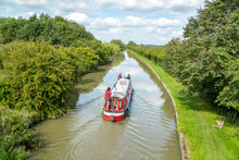 Lazy Days On The Grand Union Canal In Late Summer