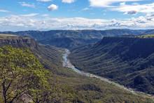 Unzimkulwana River Flowing Thr...