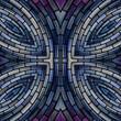 abstrakt mosaik gemalt Buntstifte nahtlos