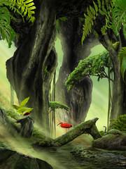 Fantasy Jungle Landscape