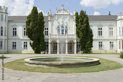 Fotografie, Obraz  Brunszvik Palace in Martonvásár, Hungary