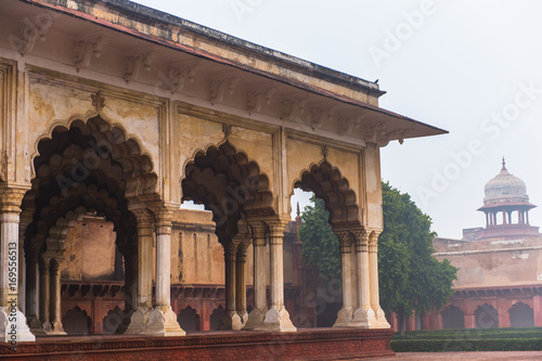 Part of the Red Fort of Agra, India. UNESCO World Heritage site. Wallpaper Mural