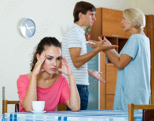 watching husband with another woman