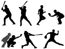 Baseball Silhouettes Collectio...