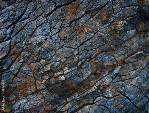 Aluminium Prints Textures colorful stone background.