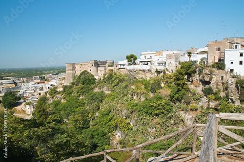 Tablou Canvas Panoramic view of Massafra. Puglia. Italy.