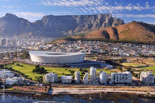 Naklejka premium Stadion w Kapsztadzie