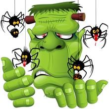 Frankenstein Spiders Pets Cart...