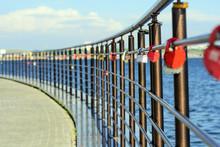 Locks In Form Of Heart - Symbo...