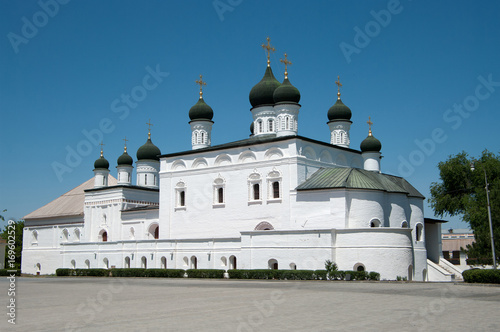 The Kremlin: the Trinity Cathedral, Astrakhan, Russian Federation Canvas Print
