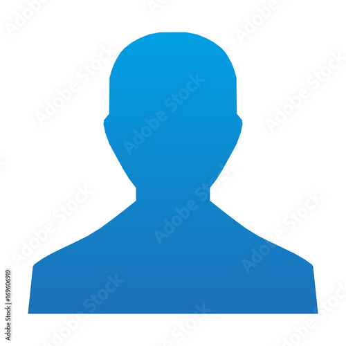 head vector icon, flat design best vector icon Tablou Canvas