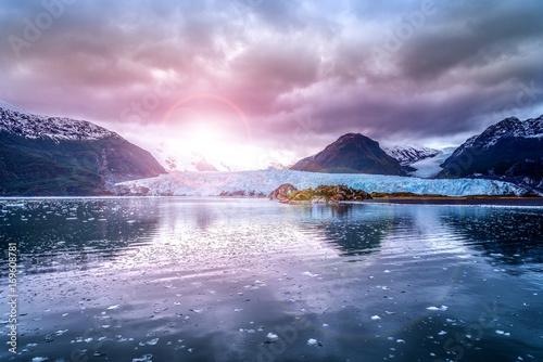 Fotografie, Obraz  glacier in Glacier national park in Alaska