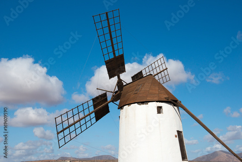 windmill on fuerteventura Poster