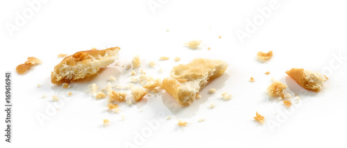 crumbs of cracker