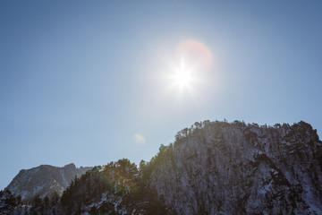 mountain of korea