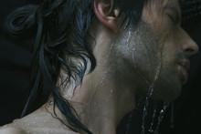 Dark Wet Male Beauty