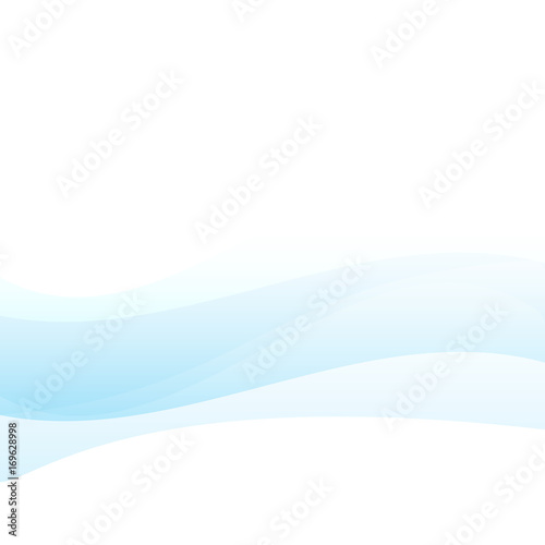 Photo Stands Abstract wave The Blue wave vector image background