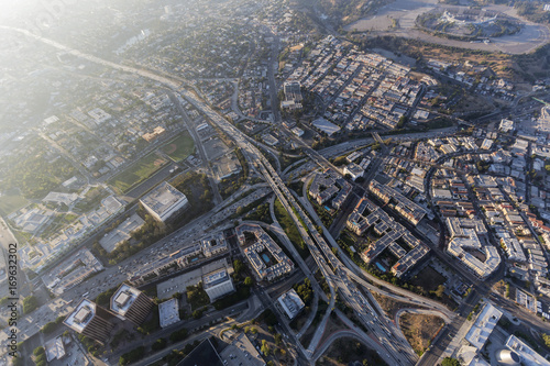 Hollywood 101, Harbor and Pasadena 110 freeway interchange