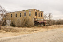 Former General Store On A Quie...
