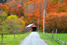 Cilley Covered Bridge In Tunbr...