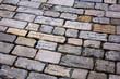 Old floor street in Rovinj, Istria