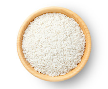 Top View Of Glutinous Rice In ...