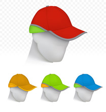 Safety Cap In Neon Colors On M...