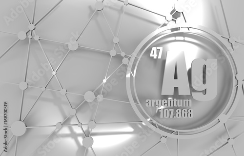 Silver chemical element sign with atomic number and atomic weight silver chemical element sign with atomic number and atomic weight chemical element of periodic urtaz Image collections