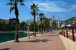 Le port d'Alicante en Espagne